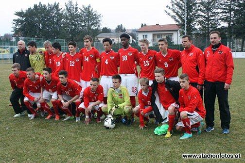 Bilder Osterreich U15 Ungarn U15 2 3 2 1 Fotos